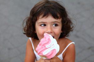 La glace italienne fait le plaisir des grands et des petits