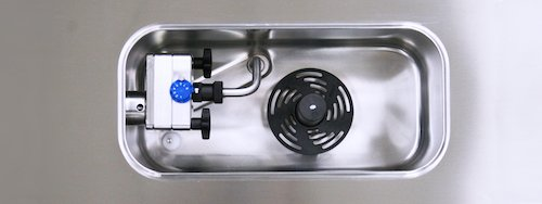 Système à pompe des machines à glace italienne Gel Matic