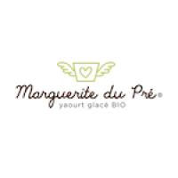 Logo des yaourts glacés bio Marguerite du Pré