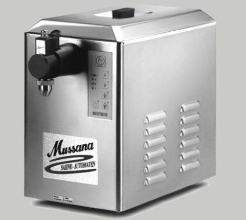 Machine à chantilly pour professionnels Mussana modèle boy