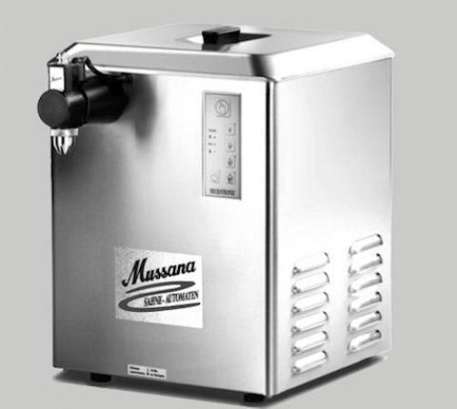Machine à chantilly pour professionnels Mussana modèle grande
